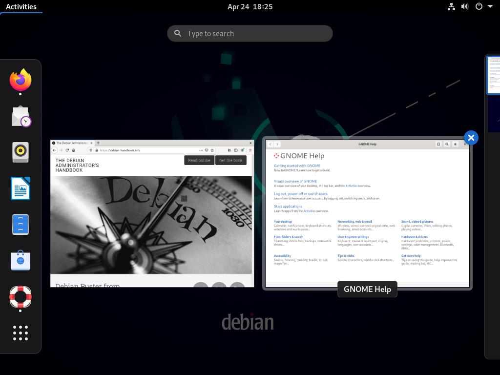 13.3. graphical desktops