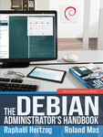 Cover of the Debian Administrator's Handbook, jessie version